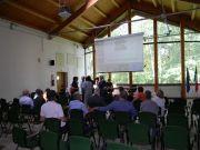 Η αίθουσα πολλαπλών χρήσεων  στο Centre Langer, το κέντρο διοίκησης του Parco delle Groane