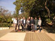 Τα μέλη της EUROPARC-Fedenatur / Periurban Commission  (από αριστερά: J.Dutroncy, N.Jones (στη θέση του Ε. Williams), S.Malić-Limari, R.Gini, C.Ritchie, N Πάγκας, M.Martí, T.Pastor, M.Pertuula –