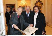 κ. Μιχαήλ Μελάς, κ.κ. Σπύρος και Μαίρη Γασπαρινάτου